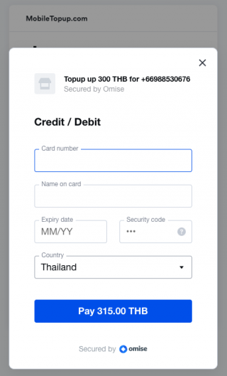 omise payment link